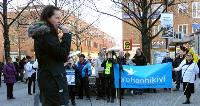 Hanna Halmeenpää från finländska ProHanhikivi.
