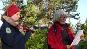 Torun Bergman spelade och Maria Forsmarker var en av sångarna